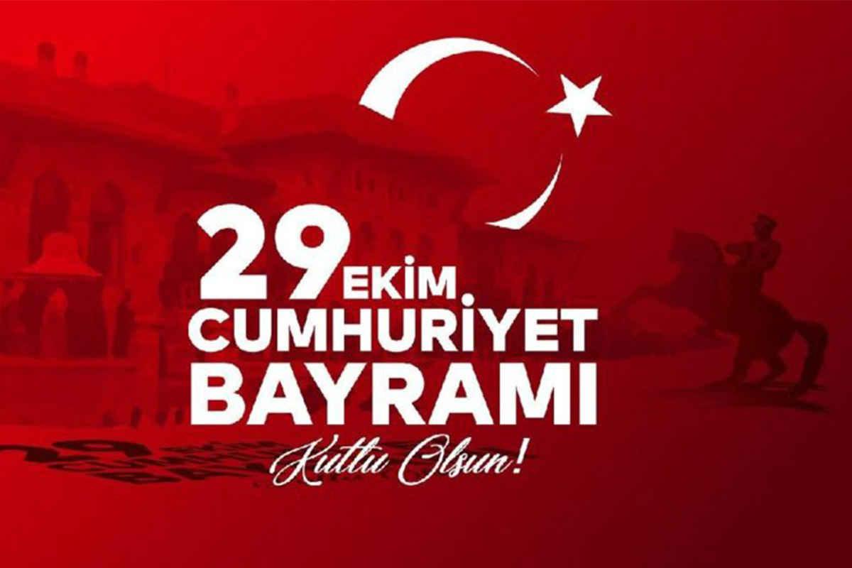 Cumhuriyet Bayram'ının 97.Yılını Kutladık