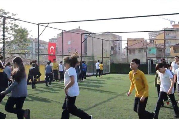 Kandilli Koleji'nde Sabah Sporu